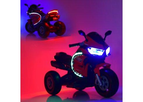 Детский трехколесный электромотоцикл Bambi M 4265EL-1 белый