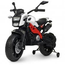 Мотоцикл детский на аккумуляторе Bambi Racer M 4267EL-1-3 бело-красный