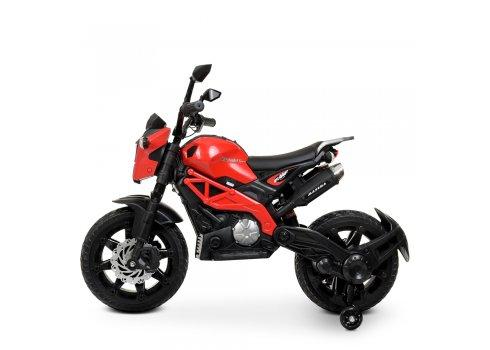 Мотоцикл детский на аккумуляторе Bambi Racer M 4267EL-3 красный