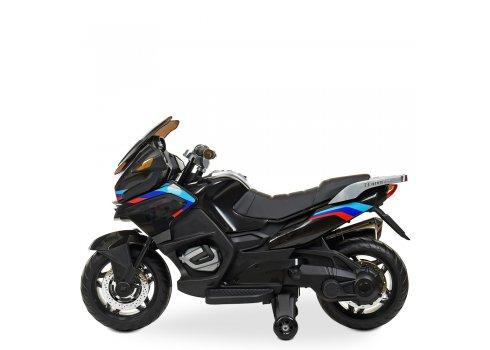 Детский мотоцикл на аккумуляторе Bambi Racer M 4272EL-2 черный