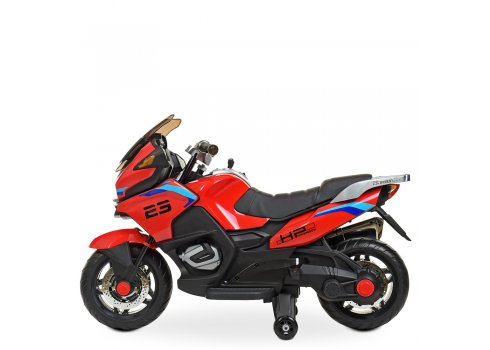 Детский мотоцикл на аккумуляторе Bambi Racer M 4272EL-3 красный
