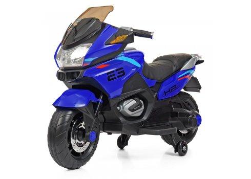 Детский мотоцикл на аккумуляторе Bambi Racer M 4272EL-4 синий
