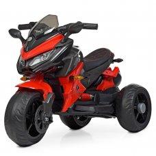 Детский трехколесный мотоцикл на аккумуляторе Bambi M 4274EL-3 красный