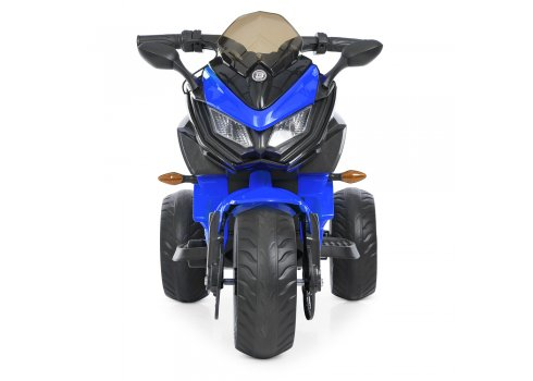 Детский трехколесный мотоцикл на аккумуляторе Bambi M 4274EL-4 синий