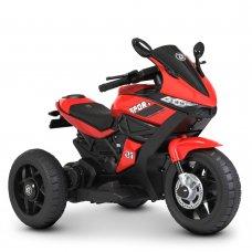 Детский трехколесный мотоцикл на аккумуляторе Bambi Racer M 4454L-3 красный