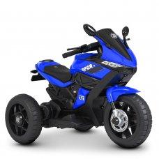 Детский трехколесный мотоцикл на аккумуляторе Bambi Racer M 4454L-4 синий