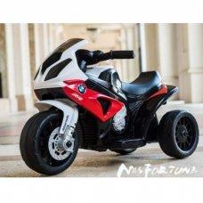 Детский электрический трехколесный мотоцикл BMW S1000 RR, JT5188L-3
