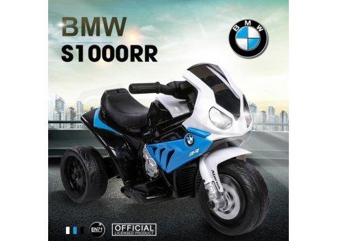 Детский электрический трехколесный мотоцикл BMW S1000 RR, JT5188L-4