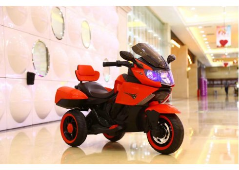 Детский электромобиль Мотоцикл T-7224 RED