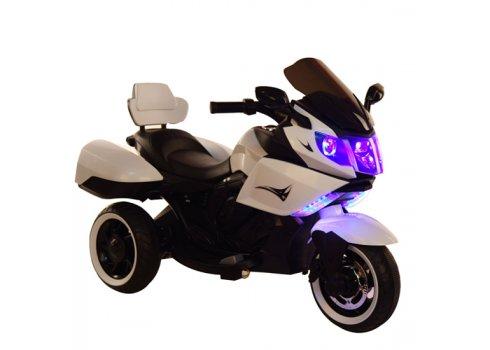 Детский электромобиль Мотоцикл T-7224 WHITE