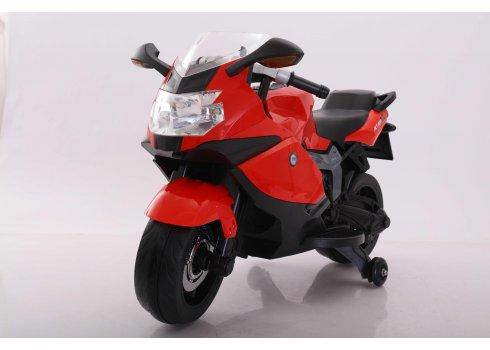 Детский мотоцикл на аккумуляторе T-7235 EVA RED красный