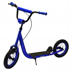Самокат на надувных колесах iTrike, SR 2-046-BL синий