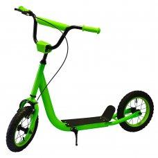 Самокат на надувных колесах iTrike, SR 2-046-GR зеленый