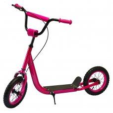 Самокат на надувных колесах iTrike, SR 2-046-P розовый