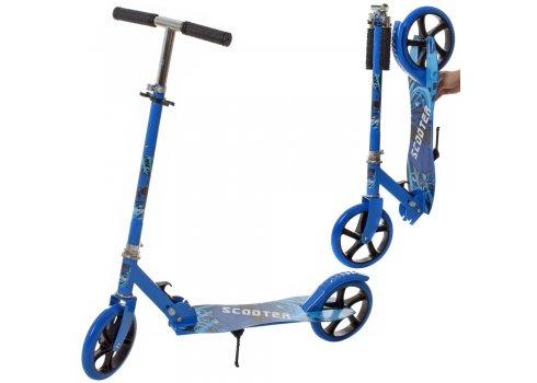 Двухколесный самокат для детей SR 2-050-1-BL синий