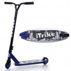 Самокат трюковый iTrike SR 2-052-T2-BBL синий
