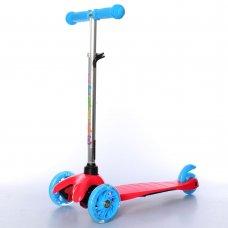 Самокат трехколесный для детей от 2х лет iTrike MINI BB 3-013-4-CR красный