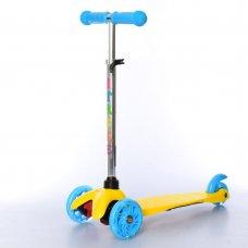 Самокат трехколесный для детей от 2х лет iTrike MINI BB 3-013-4-CY желтый