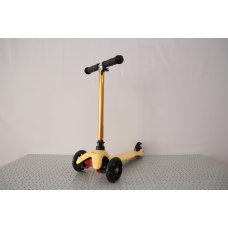 Детский самокат iTrike Mini BB 3-013-4-H желтый, руль 58-67,5 см