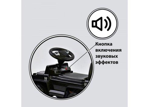 Детский толокар музыкальный JOY V-10009 черный