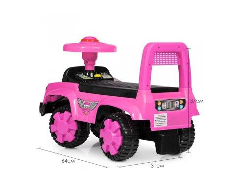 Детская каталка-толокар Bambi Q11-1-8 розовый