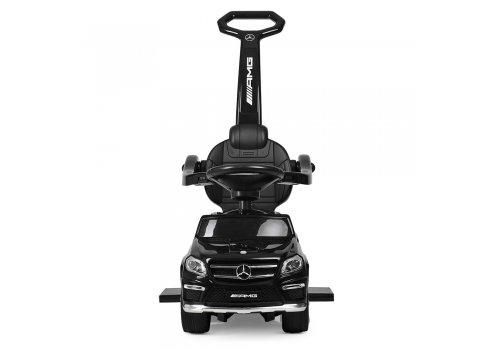 Лицензионная каталка – толокар Mercedes AMG GL63 на батарейках, SX1578-2 черный