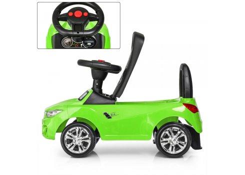 Толокар-каталка BMW на колесах с резиновым покрытием Bambi M 3147B(MP3)-5 зеленый
