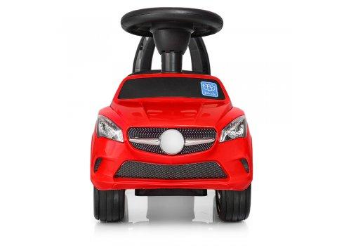 Толокар-каталка Mercedes на колесах с резиновым покрытием Bambi M 3147C(MP3)-3 красный