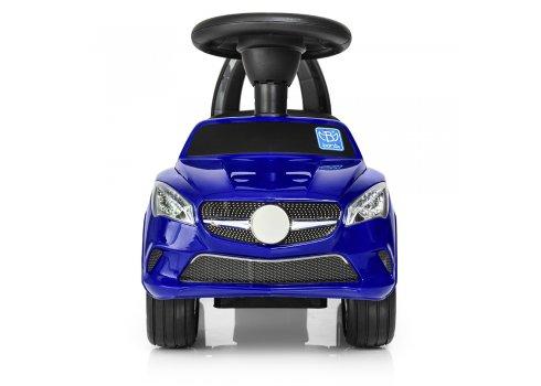 Толокар-каталка  Mercedes на колесах с резиновым покрытием, Bambi M 3147C-4 синий