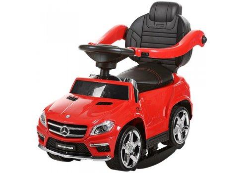 Лицензионная каталка – толокар Mercedes AMG GL63 на батарейках, SX1578-3 красный