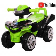 Детская каталка-толокар Квадроцикл Bambi M 3502-2-5 черно-зеленый