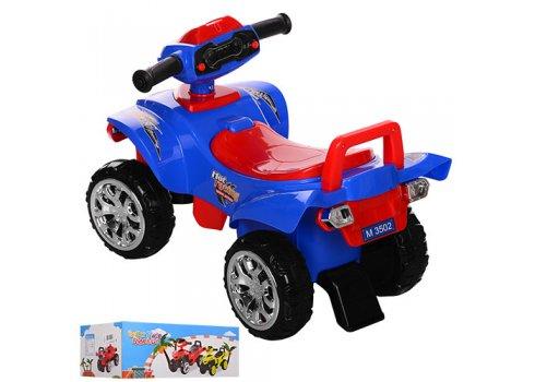 Детская каталка-толокар Квадроцикл Bambi M 3502-4-3 сине-красный