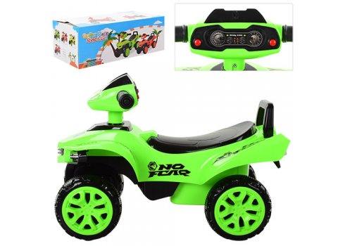 Детская каталка-толокар Квадроцикл Bambi M 3502-5 зеленый