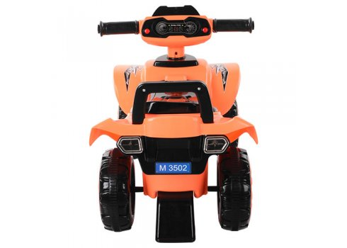 Детская каталка-толокар Квадроцикл Bambi M 3502-7 оранжевый