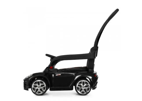 Электромобиль-толокар с родительской ручкой в стиле Lamborghini Bamb M 3591L-2 черный