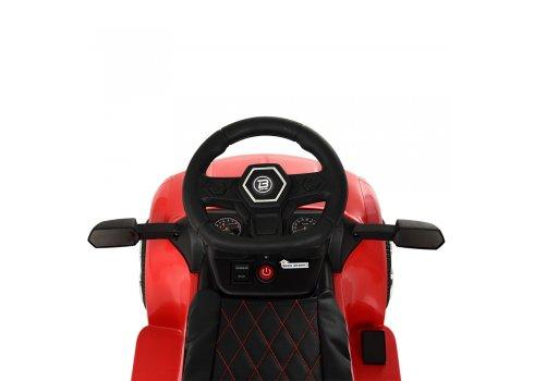 Электромобиль-толокар с родительской ручкой в стиле Lamborghini Bamb M 3591L-3 красный