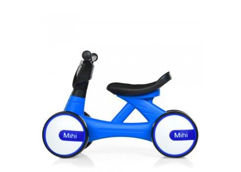 Детский беговел - толокар Bambi Mini Мотоцикл M 4086-4 синий