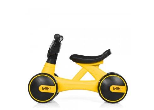 Детский беговел - толокар Bambi Mini Мотоцикл M 4086-6 желтый