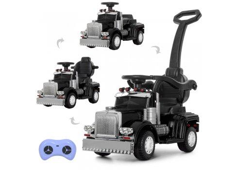 Детский толокар-электромобиль Грузовик BAMBI M 4110R-2 черный