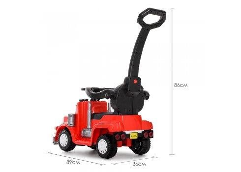 Детский толокар-электромобиль Грузовик BAMBI M 4110R-3 красный