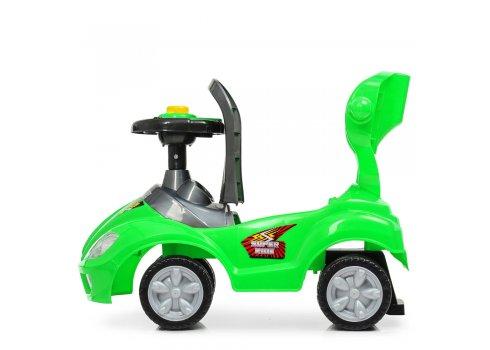 Толокар-каталка детская с родительской ручкой BAMBI M 4205-5 зеленый