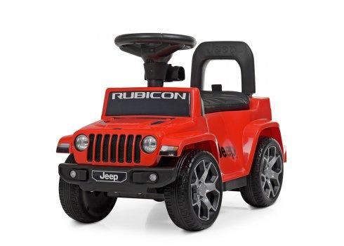 Толокар-электромобиль с родительской ручкой BAMBI M 4247EL-3 красный