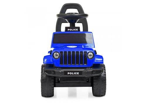 Каталка-толокар с магнитолой Полиция BAMBI M 4289-4 синий