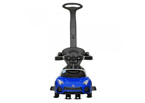 Детская машинка толокар Lamborghini с родительской ручкой BAMBI M 4316L-4 синий