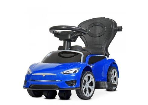 Детский электромобиль каталка толокар в стиле  Tesla M 4318L-4 синий