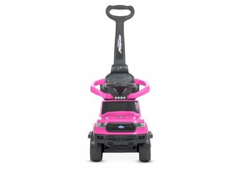 Детский толокар с мотором 25W и родительской ручкой Bambi Racer M 4564B-8 розовый