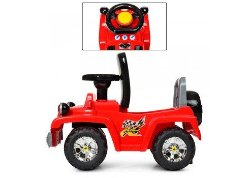 Детская каталка-толокар Джип Bambi HZ 553-3 красный