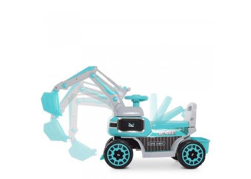 Экскаватор-толокар с подвижным ковшом Bambi M 4068R-4 голубой
