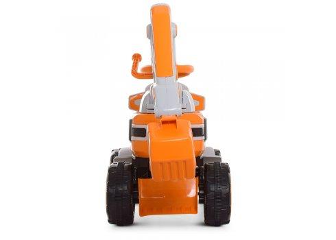 Экскаватор-толокар с подвижным ковшом, Bambi M 4068R-7 оранжевый