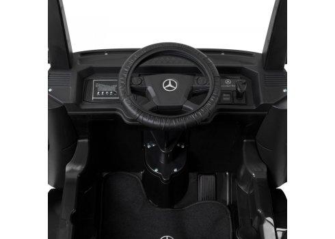 Детский электромобиль Грузовик Mercedes Actros с прицепом Bambi Racer M 4208EBLR-2(2) черный